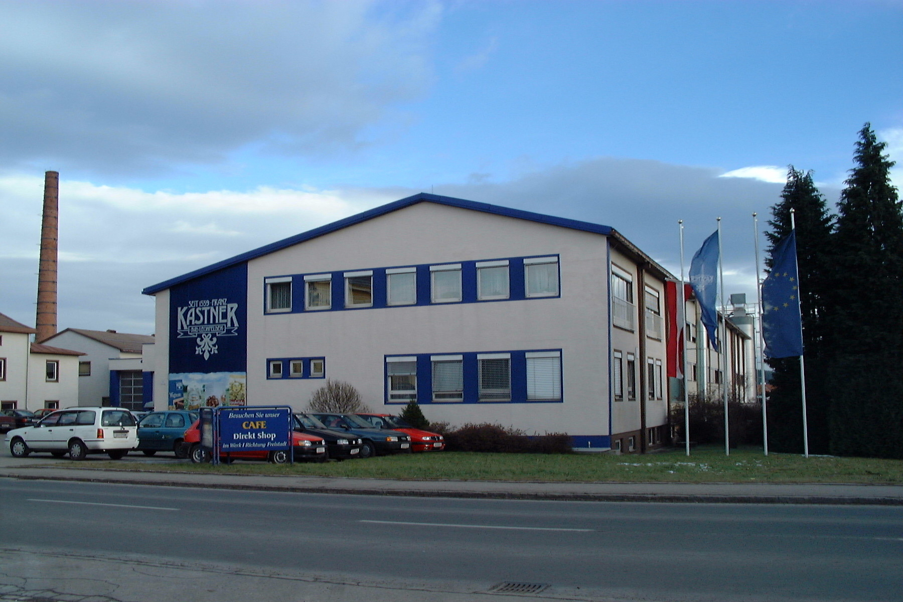 1996: extension oft he location, second production facility in Bad Leonfelden