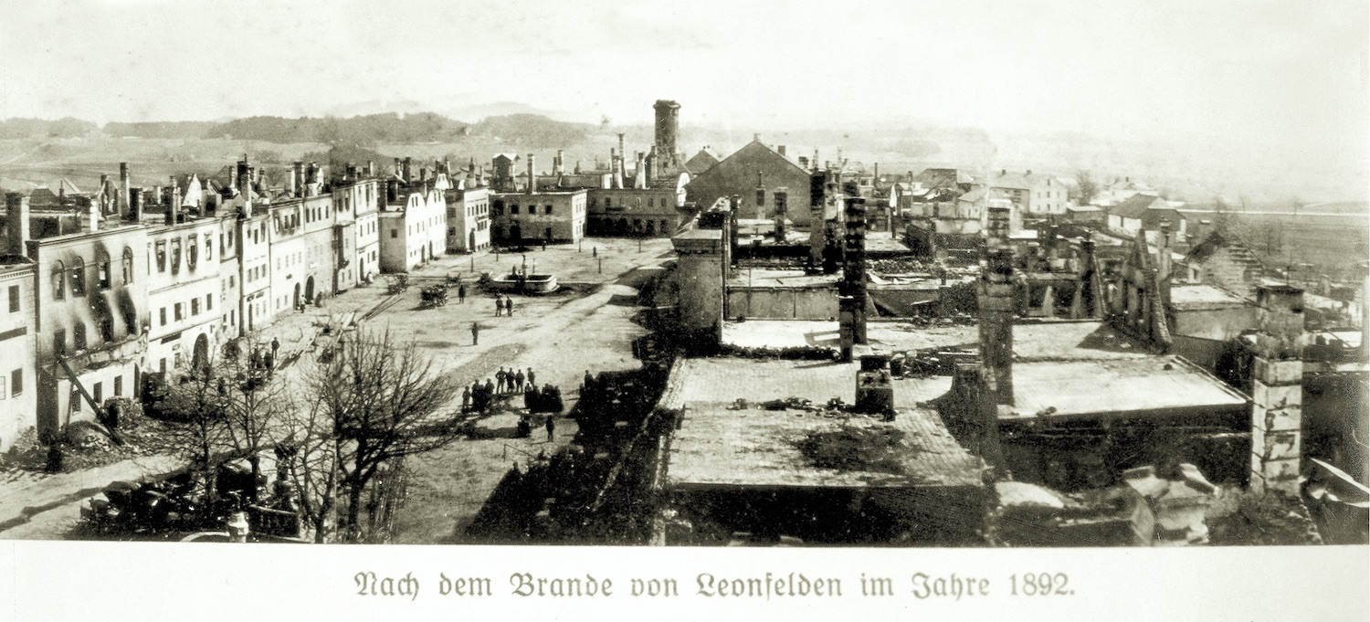 1892: market fire in Bad Leonfelden